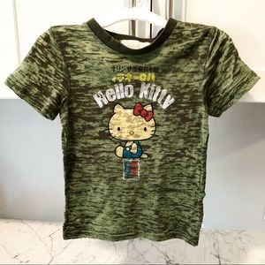 f039ef7e78ae2 Hello Kitty Shirts   Tops - Hello Kitty Sanrio Burnout Tee Army Green 4